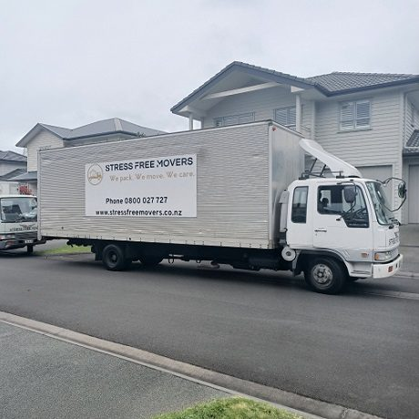 Affordable moving company truck